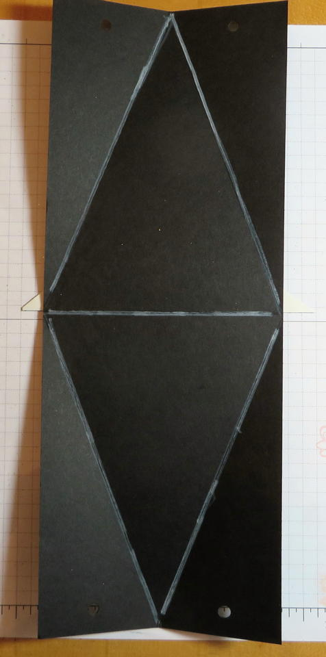 Witch's Hat Triangle Box Drawing