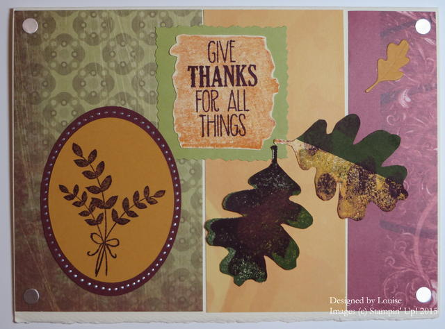 For All Things Thanksgiving Card