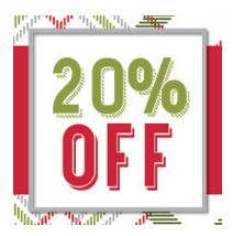 Stampin' Up! Online Extravaganza 20% Off
