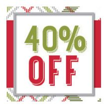 Stampin' Up! Online Extravaganza 40% Off