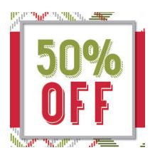 Stampin' Up! Online Extravaganza 50% Off