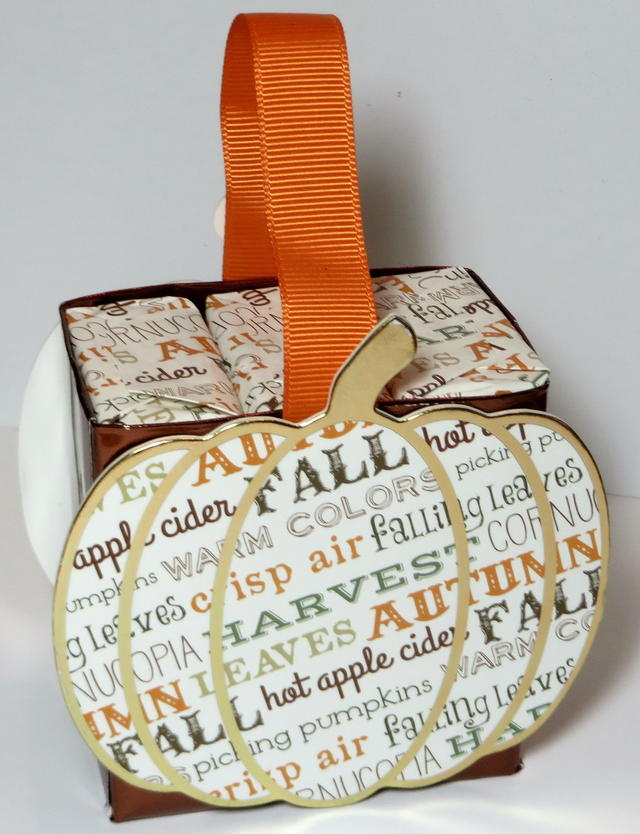 Pumpkin Box with Soaps