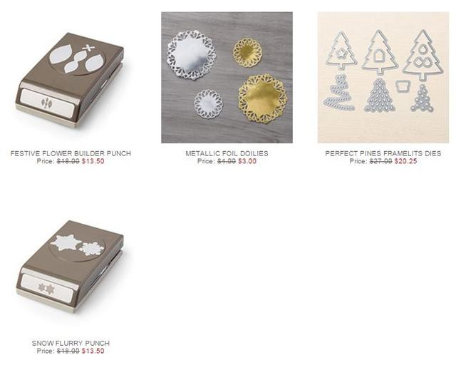 Stampin' Up! Weekly Deal Nov 10 2015
