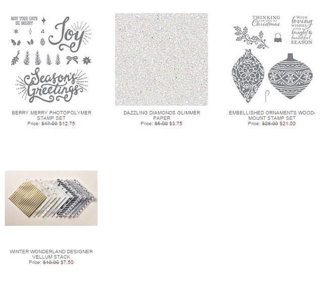 Stampin' Up! Weekly Deal Nov 24 2015