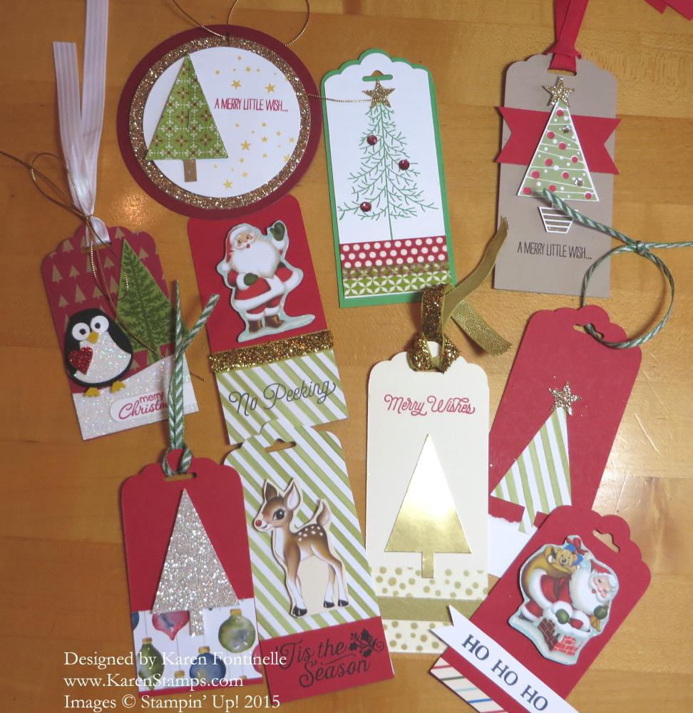 handmade christmas tags - Christmas Tags Handmade
