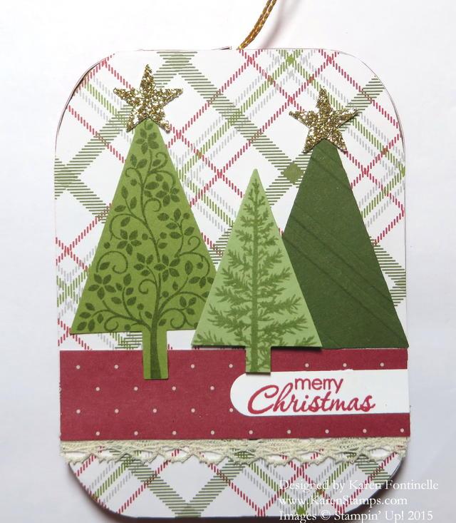 Festival of Trees Paper Mache Ornament