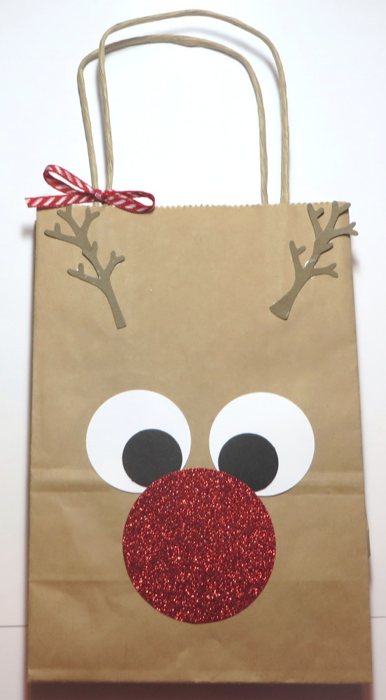 Rudolph the Red Nosed Reindeer Gift Bag