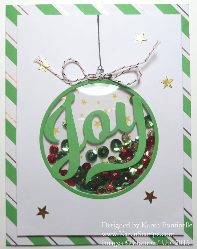To You & Yours Joy Shaker Card