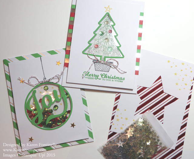 To You & Yours Shaker Card Kit Cards