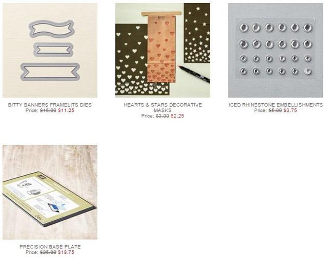 Stampin' Up! Weekly Deal Dec 8 2015