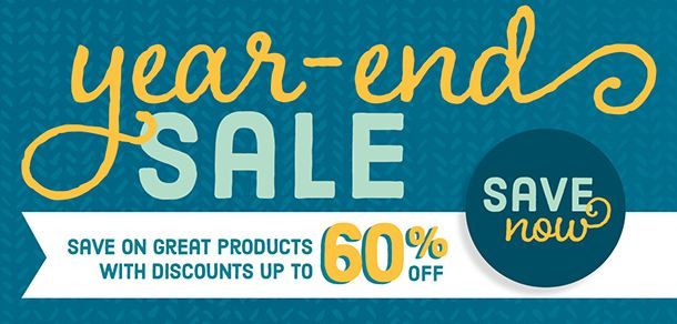 Stampin' Up! Year End Sale 2015