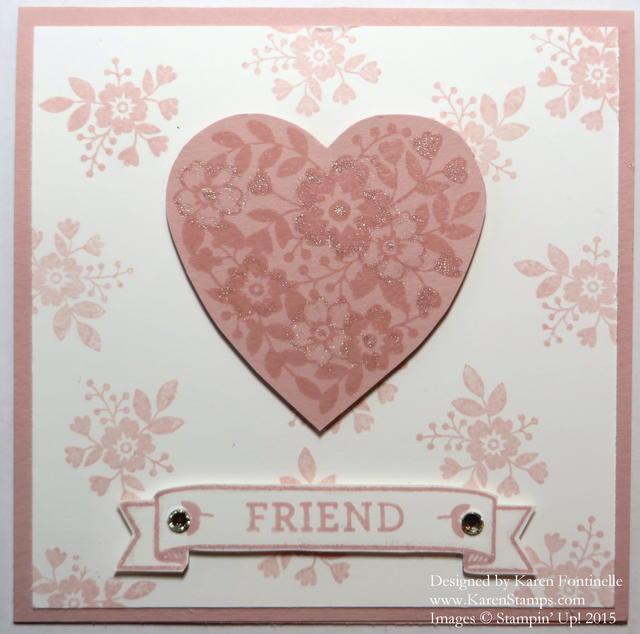 Bloomin' Love Friend Card