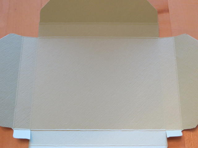 Envelope Punch Board Card Box Scored
