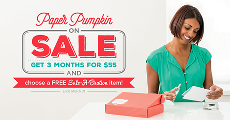 Paper Pumpkin Sale for Sale-A-Bration