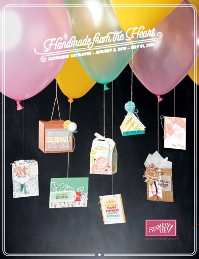 Stampin' Up! Occasions Spring 2016 Catalog