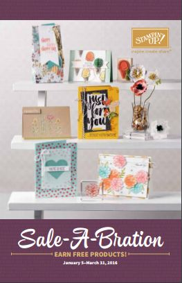 Sale-A-Bration 2016 Catalog