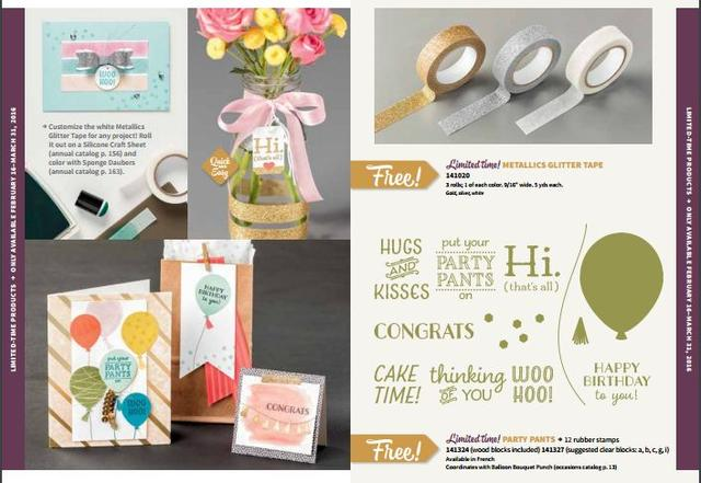 Sale-A-Bration New Products 1