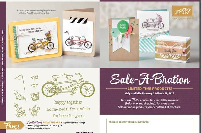 Sale-A-Bration New Products 2