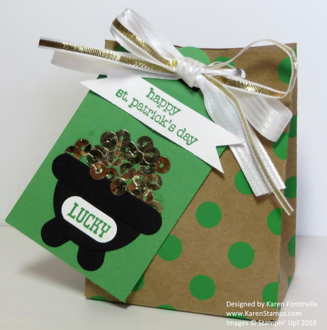 St. Patrick's Day Gift Bag and Tag