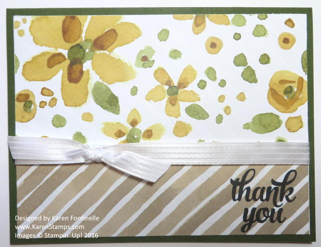 April Showers Bring May Flowers Card