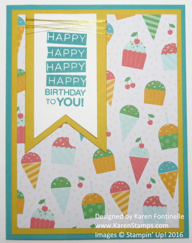 Cherry on Top Easy Amazing Birthday Card