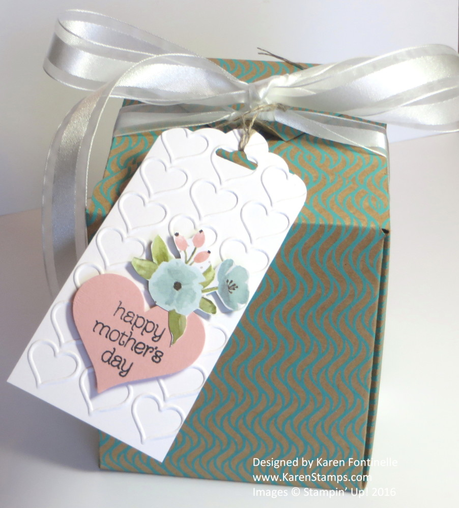 Day Gift Box With the Gift Box Punch Board