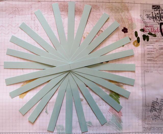 Paper Tassel Layout