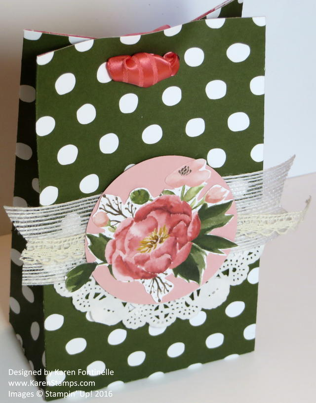 Birthday Bouquet Gift Bag for Mother's Day