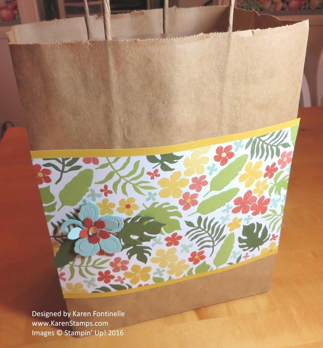 Easy Botanical Gardens Gift Bag