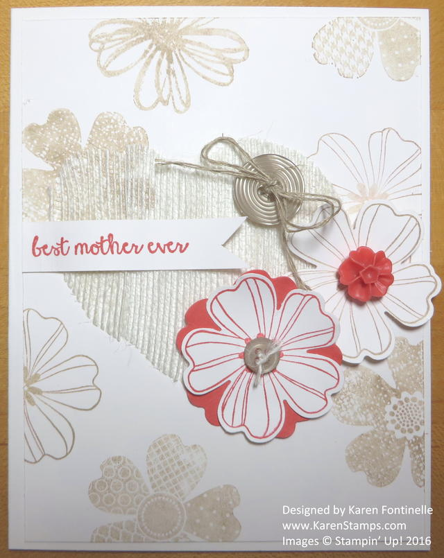 Flower Shop Mother's Day Card