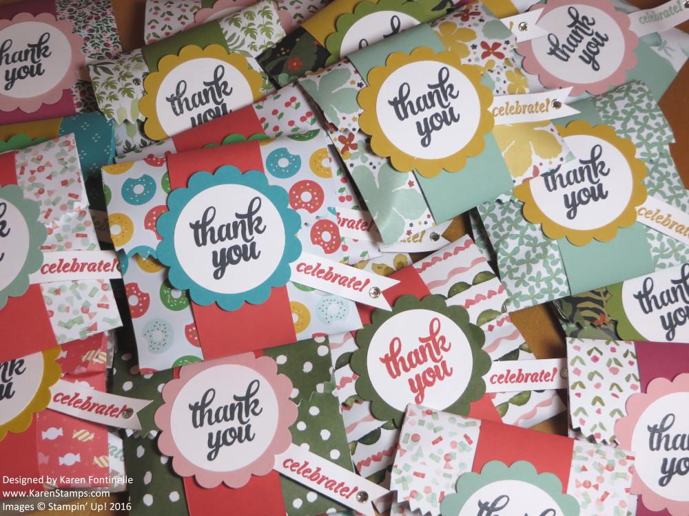 Mini Treat Bag Thinlits Candy Bags