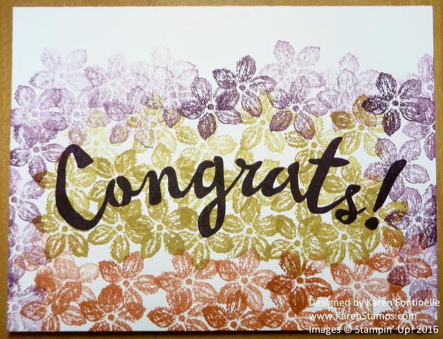 Petite Petals Congratulations Card