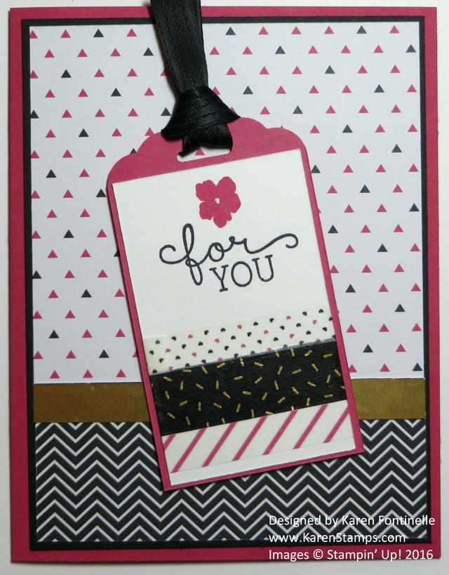 Pop of Pink Card for a Friend