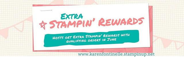 Stampin Rewards Extra Banner