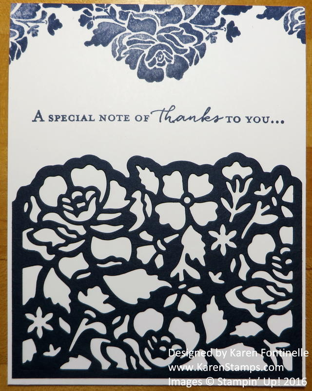 Floral Boutique Thank You Card