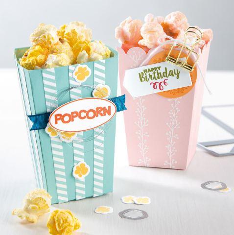 Popcorn Box Samples