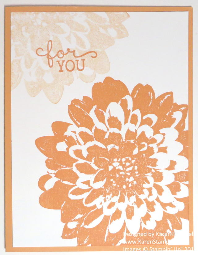 Easy Definitely Dahlia All Occasion Card
