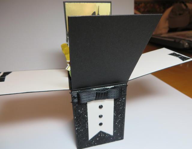 Tuxedo Card Front