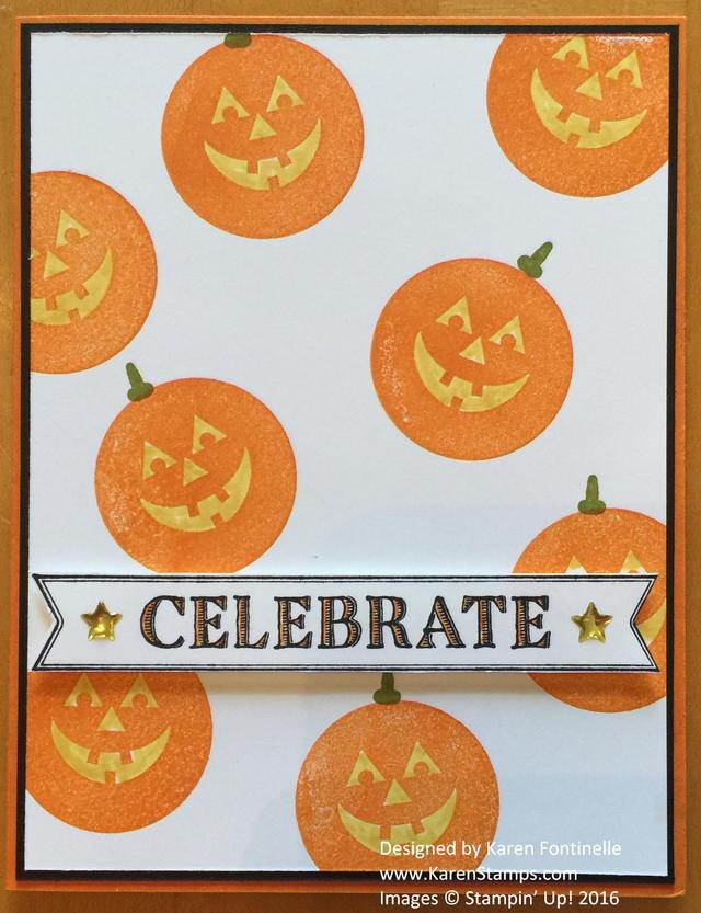 Halloween Pumpkin RMHC Card