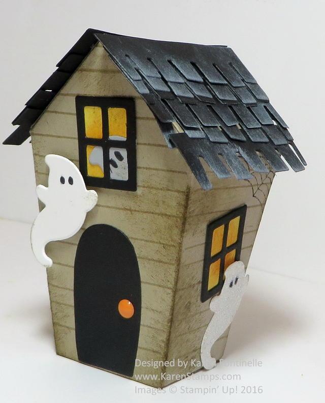 Home Sweet Home Halloween House Side