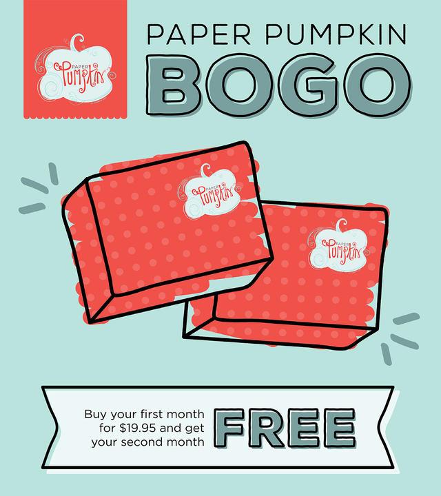 Paper Pumpkin BOGO Ad