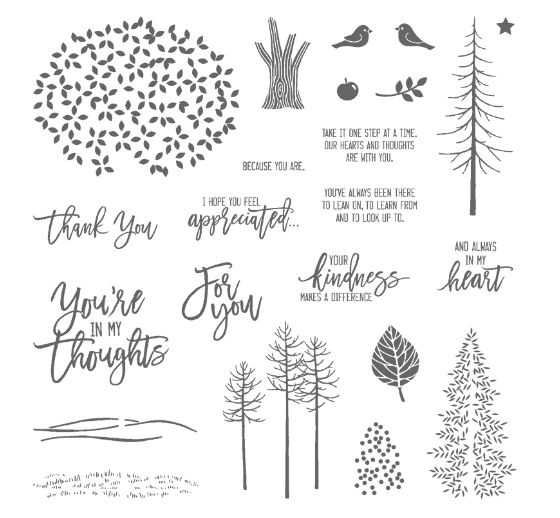 Thoughtful Branches Stamp Set