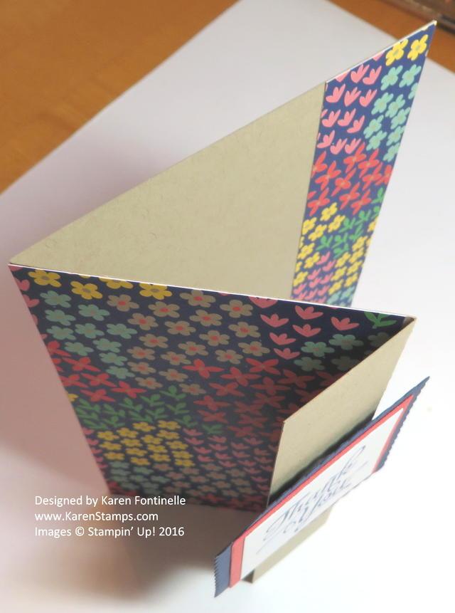 Z Fold Card Open