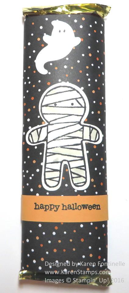 Cookie Cutter Halloween Candy Bar