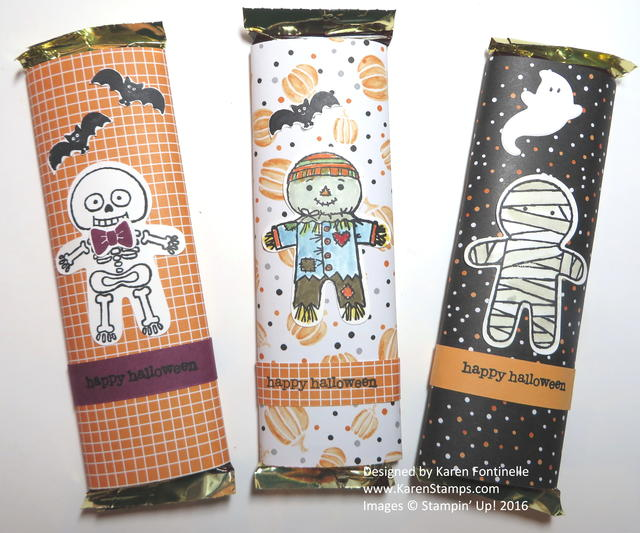 Halloween Night Candy Bars
