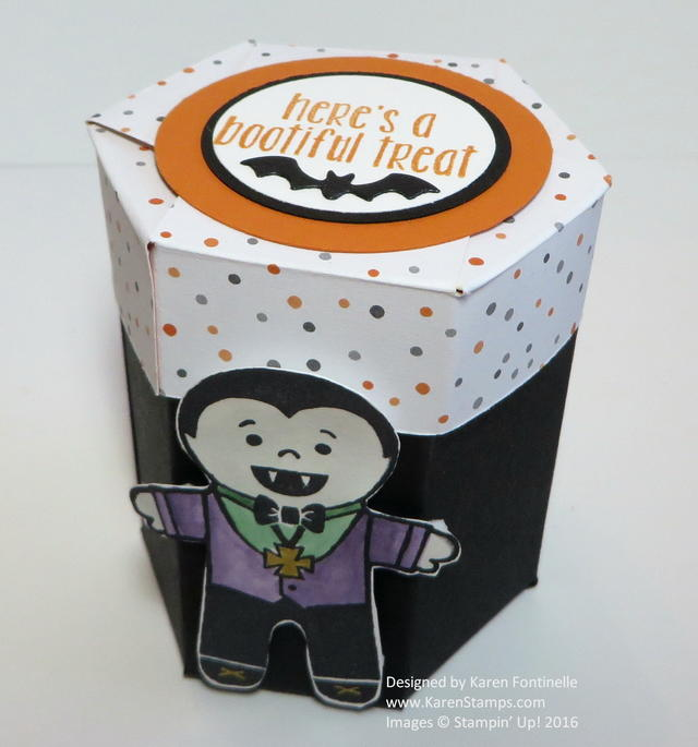 Halloween Small Hexagon Box