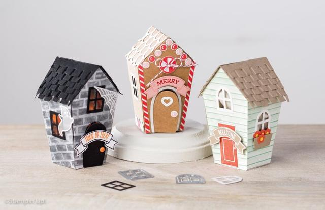 Stampin' Up! Holiday Houses