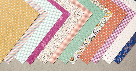 Petals & Paisleys Specialty Designer Series Paper Assortment