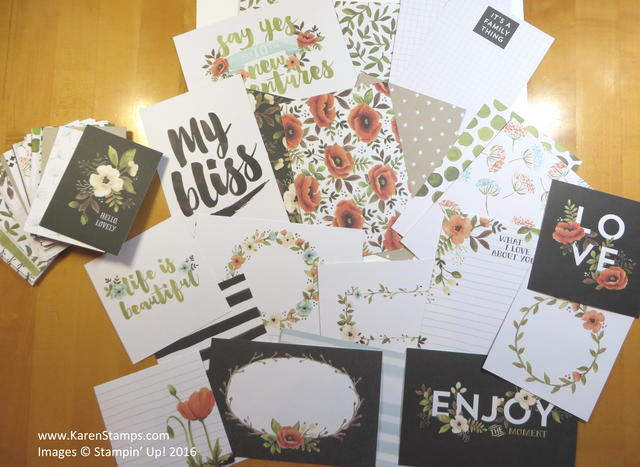 Project Life Hello Lovely Cards
