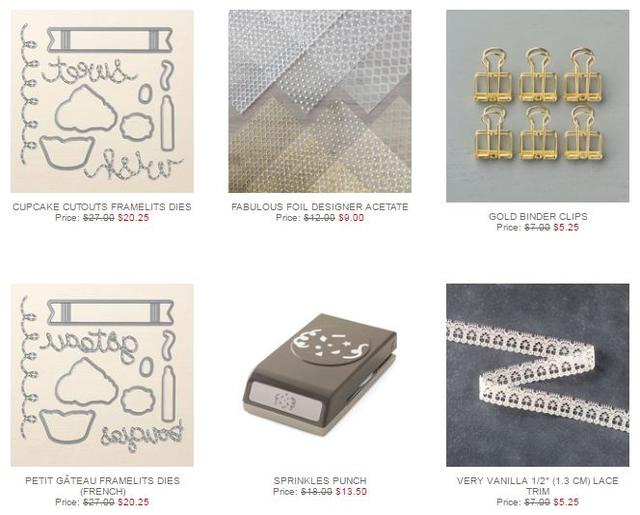 Stampin' Up! Special Offers Week 2